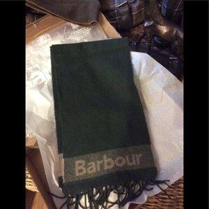 Rare Barbour Scarf unisex